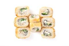 Tempura-Sushi Lizenzfreies Stockfoto