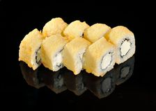 Tempura sushi Royalty Free Stock Photos