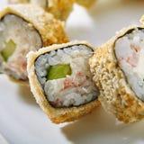 Tempura Sushi Roll Royalty Free Stock Photo