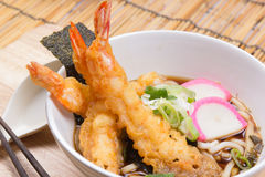 Tempura Udon. / Cooking  concept stock images