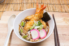 Tempura Udon. / Cooking  concept royalty free stock photography