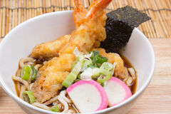Tempura Udon. / Cooking  concept stock photography