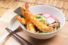 Tempura Udon. / Cooking  concept stock image