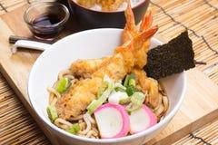 Tempura Udon. / Cooking  concept royalty free stock photo