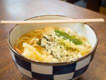 Tempura Udon. Japanese noodle tempura Udon royalty free stock photos