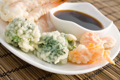 Tempura Vegetables Stock Image