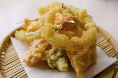Tempura Vegetables royalty free stock photography