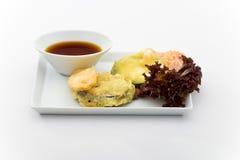 tempura warzywa obrazy stock