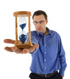 Tempus fugit stock photography