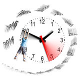 Tempus fugit - Time flies - Il tempo vola Royalty Free Stock Photos