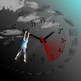 Tempus fugit - Time flies - Il tempo vola Royalty Free Stock Photo