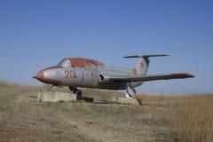 Temryuk. Military airplan. Open-air museum of the military vehicles Voennaya Gorka (The Military Hill) in Temryuk, Krasnodar region Stock Photos