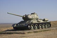 Temryuk. Tank T-34 Stock Images