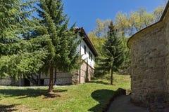 Temski修道院圣乔治,共和国庭院和教会塞尔维亚 库存照片