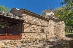 Temski修道院圣乔治,共和国教会惊人的看法塞尔维亚 免版税库存照片
