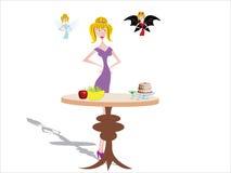 Temtation Nahrung Lizenzfreies Stockfoto
