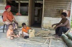 Temuans, ??n van inheemse volkeren van Maleisi royalty-vrije stock foto