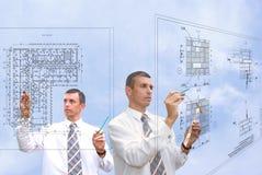 Temwork in designing Stock Photo