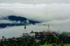 Ten świątynny Pha syn Kaew jest jawny W Phetchabun, Tajlandia to Zdjęcia Royalty Free