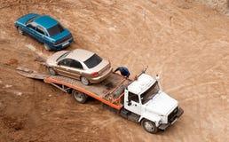 Ładować samochód Zdjęcie Stock