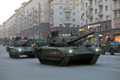 Ten-14 Armata Arkivbild
