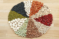 Ten Bean Mix. Stock Photos