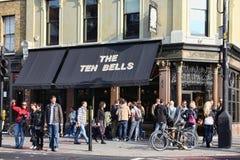 The Ten Bells public house Stock Photo
