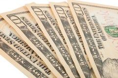 Ten-bills. Ten-bill. Background for design Royalty Free Stock Photography