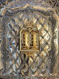 The Ten Commandment on a Torah Book royalty free stock photo