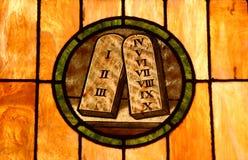 Ten commandments royalty free stock photos