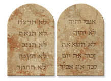 Free Ten Commandments Royalty Free Stock Photography - 1584127