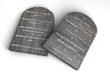 The Ten Commandments Royalty Free Stock Photos