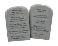 Ten Commandments Royalty Free Stock Photo