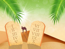 Ten Commandments Royalty Free Stock Photos