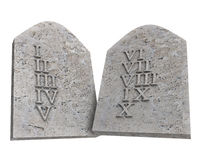 Ten Commandments Royalty Free Stock Images