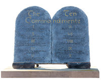 Ten Commandments Royalty Free Stock Images