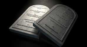 The Ten Commandments Royalty Free Stock Images