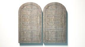 The Ten Commandments Royalty Free Stock Photography