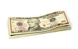 Ten dollar Royalty Free Stock Images
