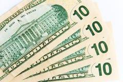 Ten dollar bill Stock Image