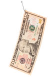 Ten dollar bill Stock Photos