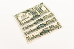 Ten Dollar Japanese Note Royalty Free Stock Image