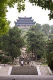 Ten droga jest może prowadzić wysokiego szczytu jingshan park Obraz Stock