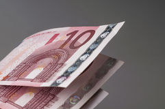 Ten euro banknotes Stock Photography