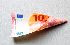 Ten Euro paper currency Stock Images
