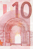 Ten Euros Royalty Free Stock Image