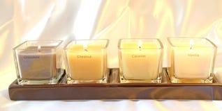 Cztery perfumowania Zdjęcie Royalty Free