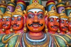 Ten Headed Ravana Vahana. In Kapaleeshvarar temple in Chennai, India Stock Photography