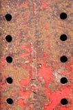 Ten holes Stock Images