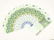 Ten hundred euro Stock Photo